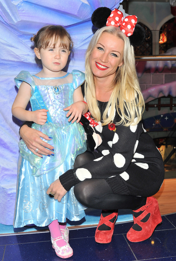 Denise Van Outen and daughter Betsy attend Disney Store party, 6.11.13
