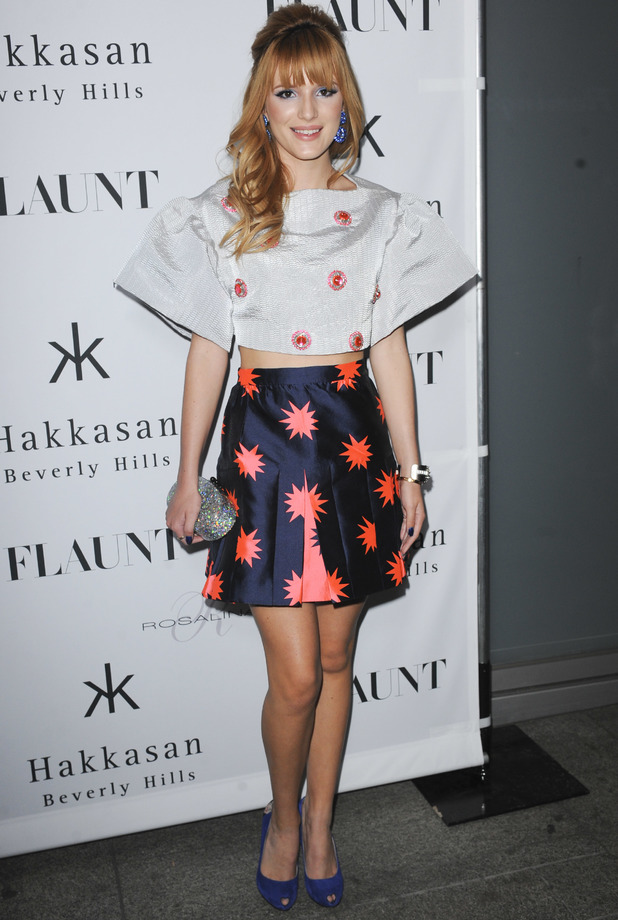 Bella Thorne attends the Flaunt Magazine November Issue Party in Los Angeles, 7 November 2013