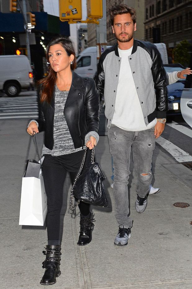 Kourtney Kardashian and Scott Disick out and about, New York, America - 05 Nov 2013