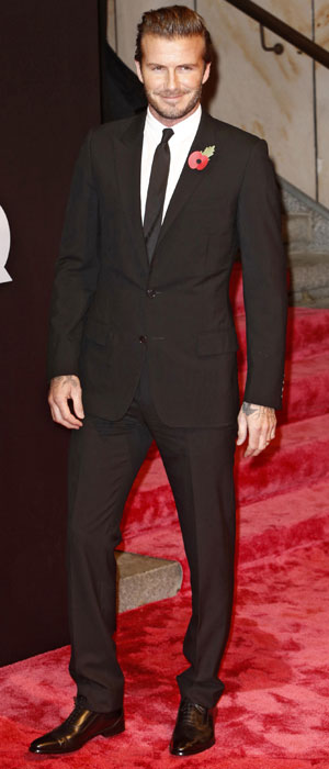 David Beckham at the GQ Germany Men of the Year Awards, 7 November 2013