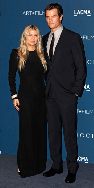 Fergie and Josh Duhamel, LACMA 2013 Art and Film Gala honoring David Hockney and Martin Scorsese - Arrivals, 2 November 2013