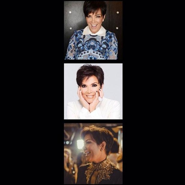 Kim Kardashian marks mum Kris' 58th birthday with collage of pictures, 5 November 2013