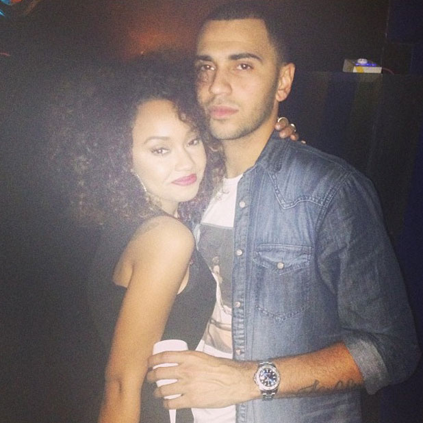 Leigh-Anne Pinnock and Jordan Kiffin celebrate first anniversary, 5 November 2013