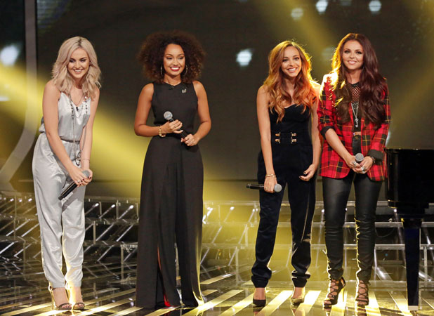 Little Mix on The X Factor' TV show, London, Britain - 03 Nov 2013
