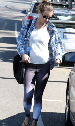 Olivia WIlde out and about, Los Angeles, America - 02 Nov 2013