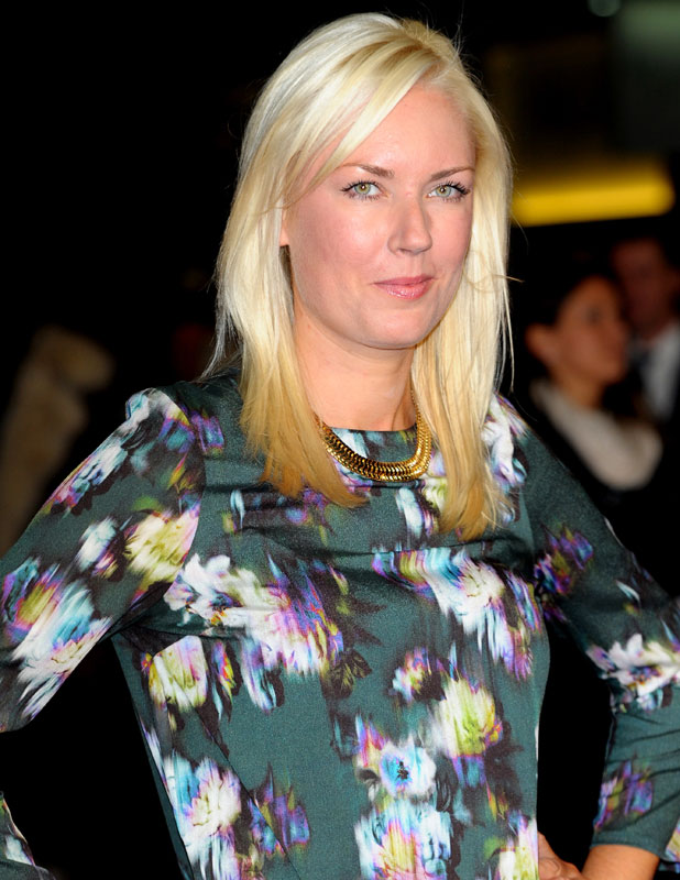 Stella English, European premiere of 'One Chance' at Odeon Leicester Square, 17 October 2013