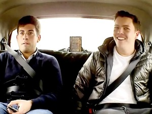 TOWIE's James 'Arg' Argent and James 'Diags' Bennewith get pranked on ITV2 show, Tricked.