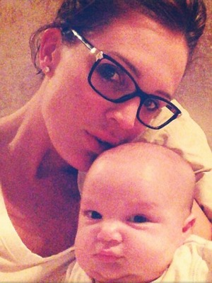 Danielle Lloyd shares a picture of her son George, Nov 13.