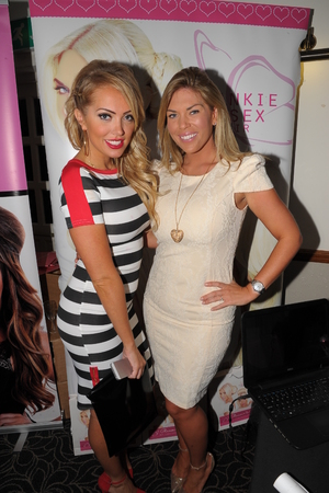 The West Essex Fashion Fair - 14.11.2013 Frankie Essex, Aisleyne Horgan-Wallace,