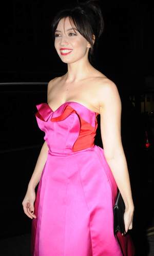Daisy Lowe at the British Heart Foundation Tunnel of Love party in London. 12.11.13