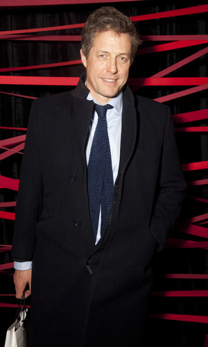 Hugh Grant attends British Heart Foundation's Tunnel of Love event in London, 12.11.13