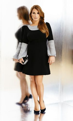 Coleen models her new fashion collection for littlewoods.com