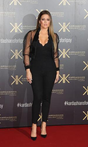 Khloe Kardashian Lipsy Party, Natural History Museum, London, Britain - 14 Nov 2013