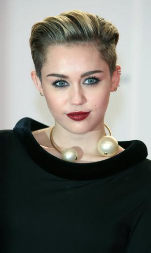 Miley Cyrus at the Bambi Awards in Berlin, Germany - 13 November 2013