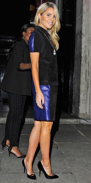Mollie King - British Heart Foundation Tunnel of Love party, London, Britain - 12 Nov 2013