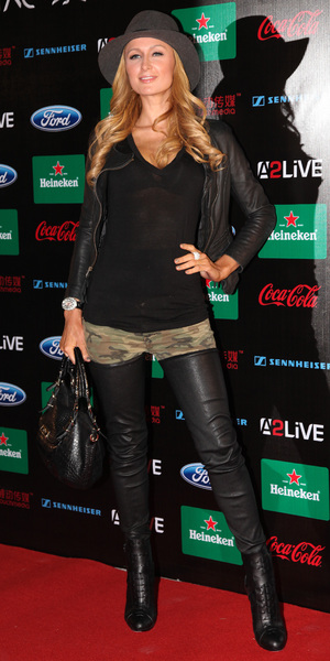 Paris Hilton attends Storm Electronic Music Festival in Shanghai, China - 16 Nov 2013