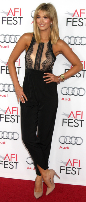 Delta Goodrem attends the Out Of The Furnace premiere - LA, 10 November 2013