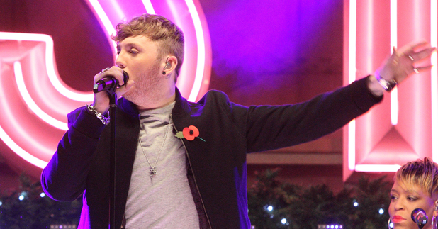 James Arthur, Oxford Street Christmas Lights Switch On at Oxford Street, London
