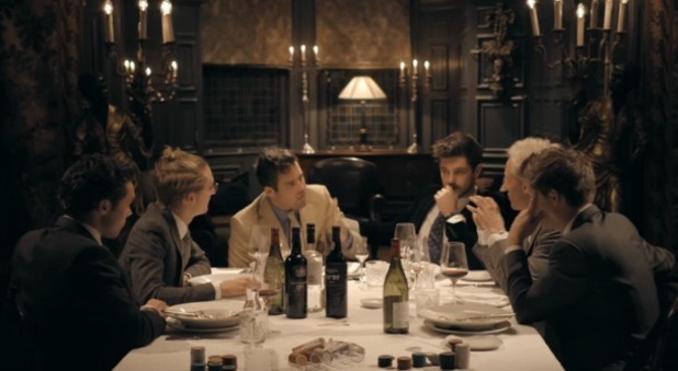 Spencer Matthews hosts a dinner party on Made In Chelsea, 11.11.13