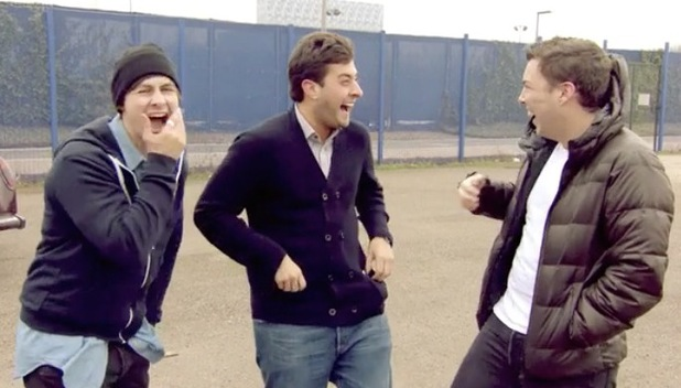 TOWIE's James 'Arg' Argent and James 'Diags' Bennewith get pranked on Ben Hanlin's ITV2 show, Tricked.