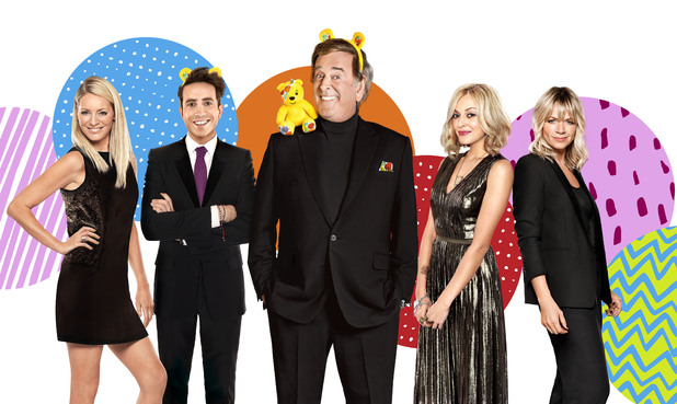 BBC Children In Need 2013, presenting line up, Fri 15 Nov