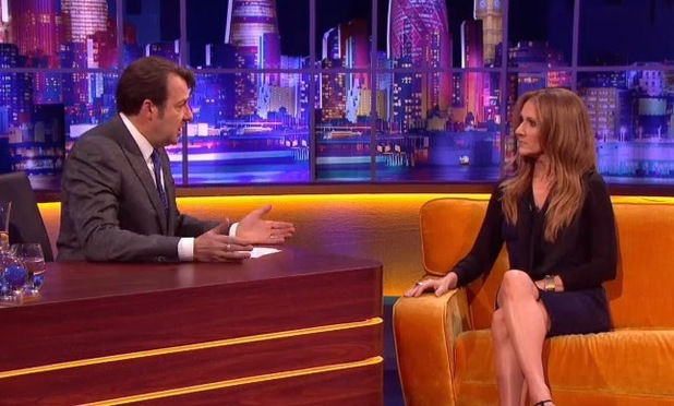 Celine Dion on The Jonathan Ross Show. (9 November)