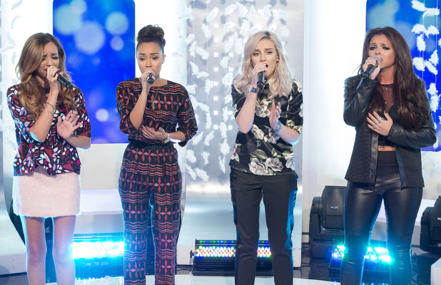 Little Mix, Perrie Edwards, Jesy Nelson, Leigh-Anne Pinnock, Jade Thirlwall on This Morning - 15 November 2013