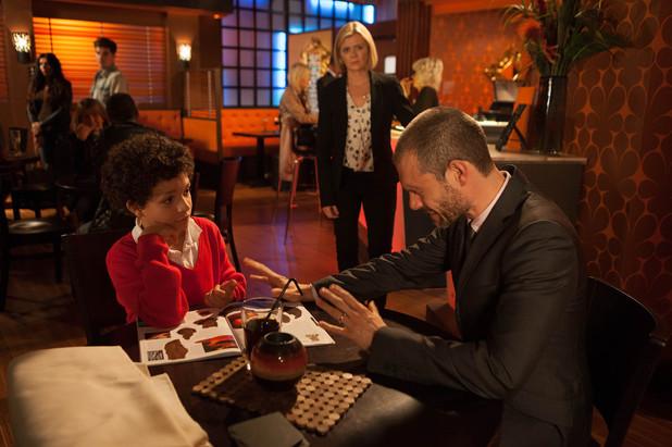 Corrie, Nick snaps at Simon, Mon 18 Nov