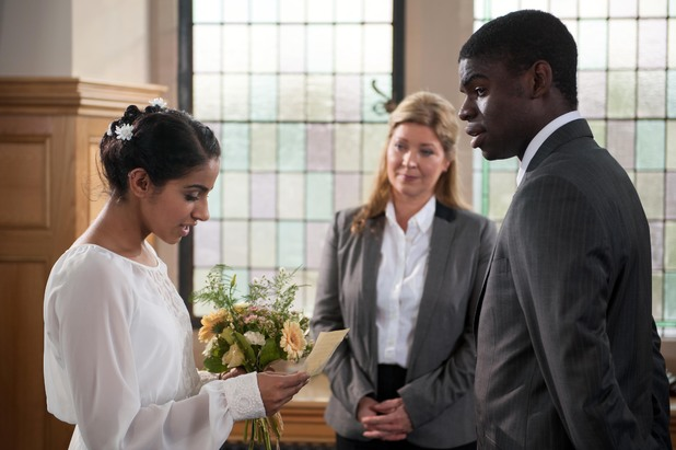 Hollyoaks, Vincent and Phoebe's wedding, Thu 14 Nov