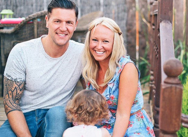 Leanne and Phil are both delighted to be parents