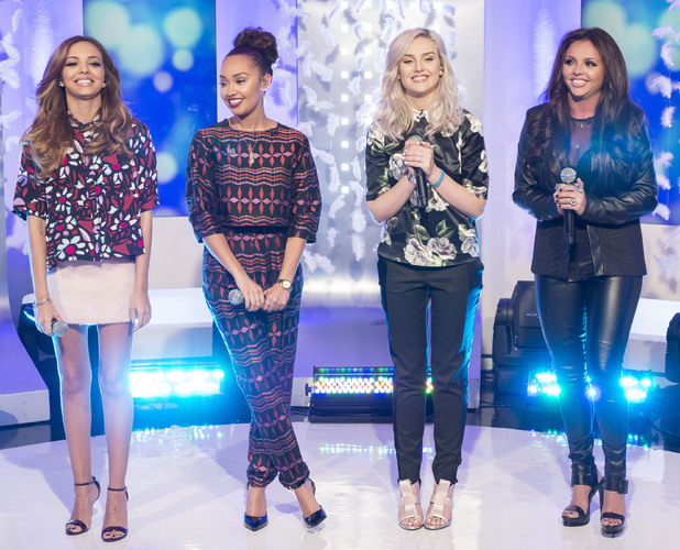 Little Mix, Leigh-Anne Pinnock, Jesy Nelson, Perrie Edwards, Jade Thirlwall on This Morning - 15 November 2013