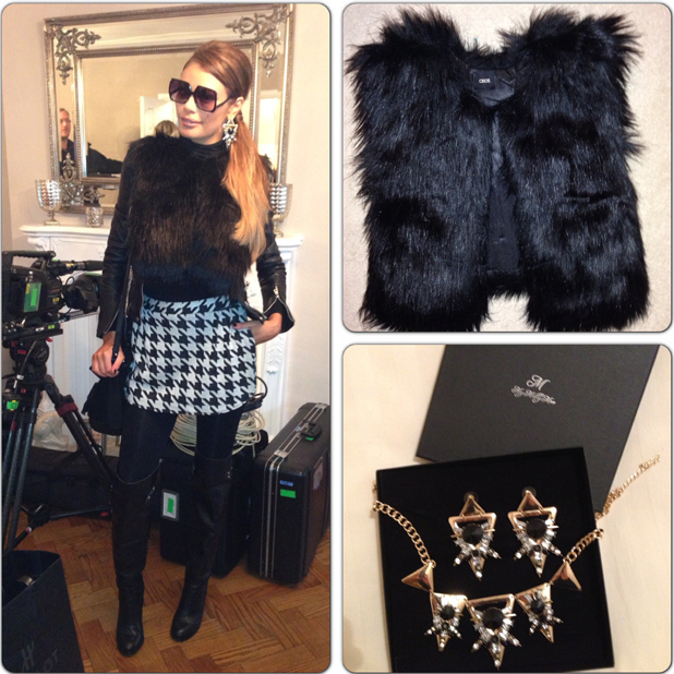 TOWIE's Chloe Sims fashion blog. (Friday 15 November 2013)