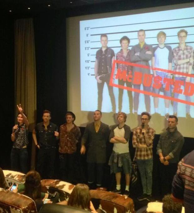McBusted press conference - McFly and Busted announce joint UK tour - 11.11.2013