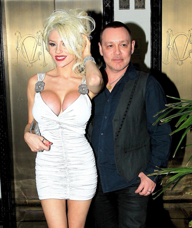 Courtney Stodden and Doug Hutchison at Chateau Marmont at Los Angeles, United States 08/08/2013