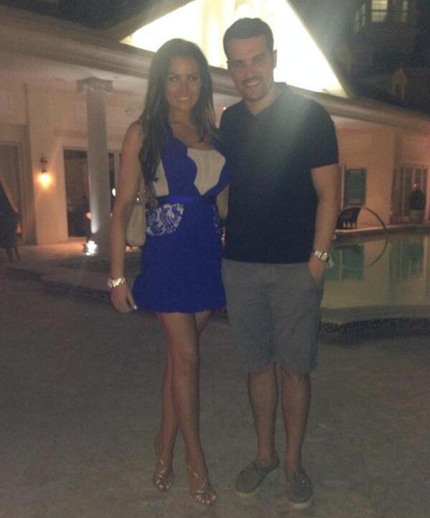 Jess Wright on dinner date in Florida with Ricky Rayment - 12.11.2013