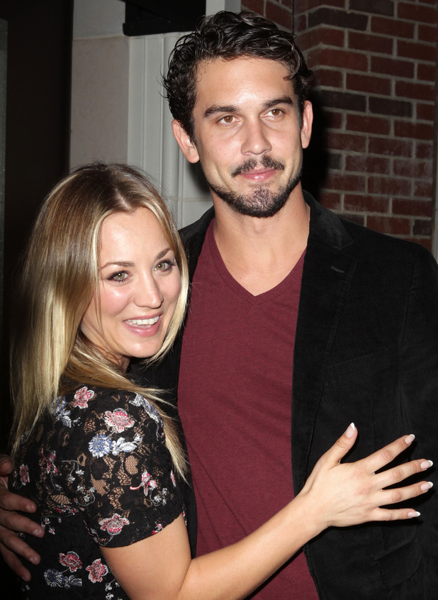 Kaley Cuoco and fiancé Ryan Sweeting at the Amanda Foundation's Annual Bow Wow Beverly Hills Halloween Event at Two Rodeo 10/27/2013. Beverly Hills, United States