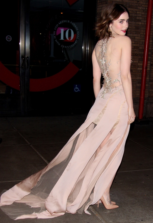 Lily Collins at the Glamour 2013 Women Of the Year Awards in New York, 11 November 2013