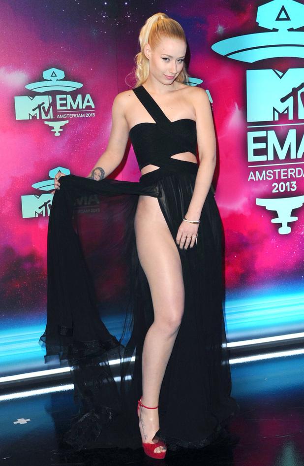 20th MTV Europe Music Awards held at Ziggo Dome, Amsterdam - Arrivals Iggy Azalea