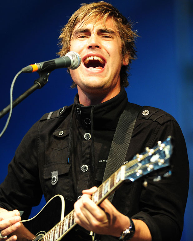 Charlie Simpson performing at V Festival in 2011.