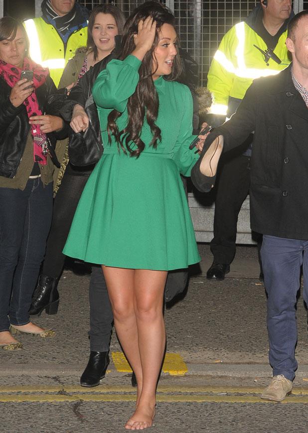 Charlotte Crosby, 'The X Factor' TV show, London, Britain - 10 Nov 2013