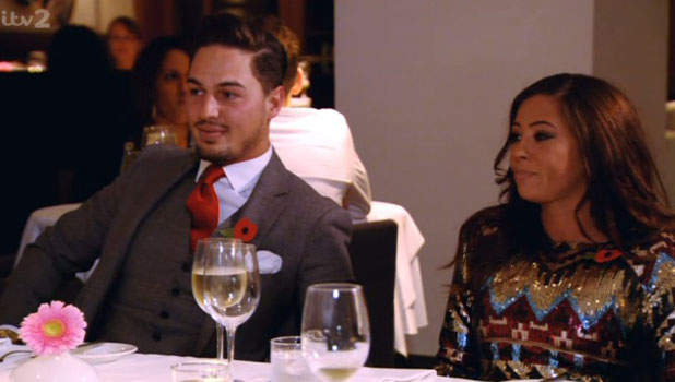 Pascal Craymer makes her TOWIE debut with boyfriend Mario Falcone, 10 November 2013