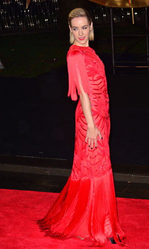 Jena Malone at the Hunger Games: Catching Fire world premiere in London, 11 November 2013