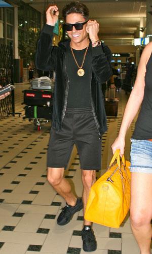 Joey Essex, 'I'm a Celebrity Get Me Out of Here' TV show arrivals, Brisbane International Airport, Australia - 13 Nov 2013