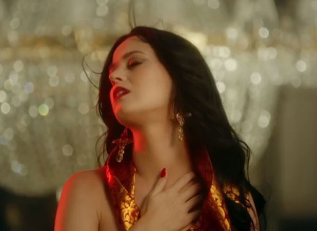 Katy Perry is gothic glamorous in preview video for new song Unconditionally, November 2013
