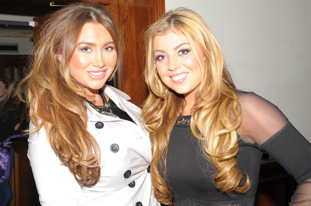 Lauren Goodger, The West Essex Fashion Fair, 14 November