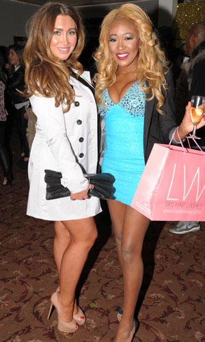 Lauren Goodger, The West Essex Fashion Fair, 14 November