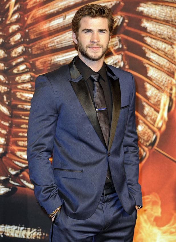 Liam Hemsworth at German premiere of 'Hunger Games: Catching Fire' at Cinestar am Potsdamer Platz movie theatre, 12 November 2013
