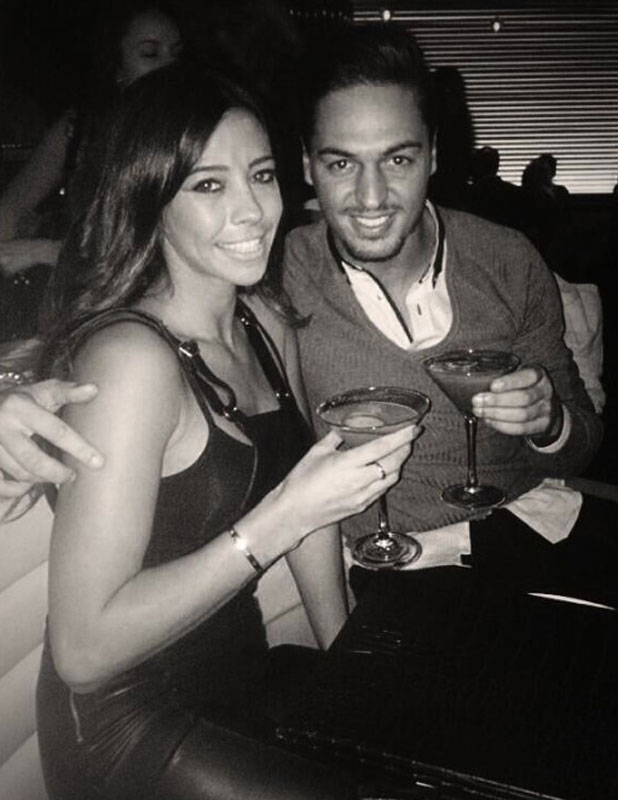 Mario Falcone and Pascal Craymer enjoy dinner at STK London, picture tweeted 8 November 2013