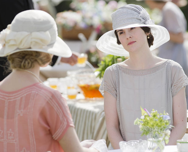 Michelle Dockery in Downton Abbey, series four, November 2013