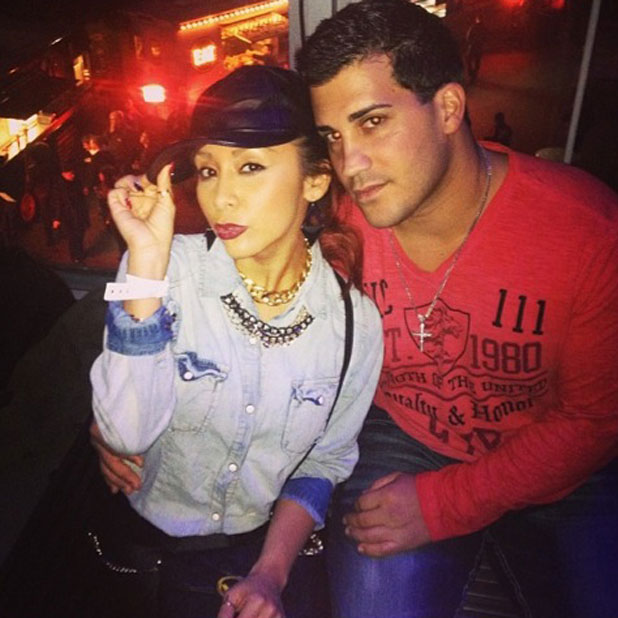 Snooki and fiance Jionni LaValle enjoy a date night in New York, November 2013
